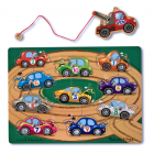 Magnetic Wooden Game - Tow Truck