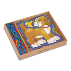 Lace and Trace Activity Set Pets - Helps to develop dexterity and co-ordination