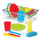 Wash & Dry Dish Set - Encourages creative and imaginative role play