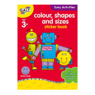 Colour, Shapes and Sizes * Home Learning Book