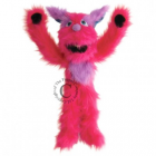 Monster Pink Puppet
