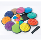 Tactile Discs - 10 Lrg/10 Sml* - tactile, sensory active play toy