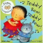Teddy Bear, Teddy Bear Signing (Board Book) - Rhyming and sing along book