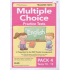 Multiple Choice Practice Tests in English Pack 4
