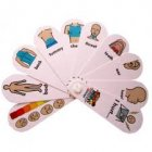 I hurt fan - Helps children to tell you where and how much it hurts*
