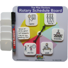 Rotary Schedule Board