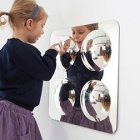 Large 4 Dome Mirror Panel Acryic Mirror Convex 490mm