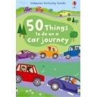 Activity Cards 50 things to do on a car journey