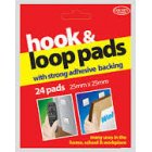 Sticky Hook N Loop Pads 24