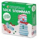 Christmas Sock Snowman