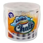 15 Jumbo Sidewalk Chalk - White
