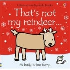 Thats not my reindeer book - Interactive, sensory book