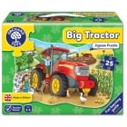 Big Tractor - 25 Piece Shaped Floor Jigsaw Puzzle