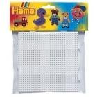 Midi Hama Board - Square Small White