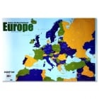 Clever Kidz Wall Chart Map of Europe