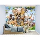 Walltastic Mural - Jungle Safari*
