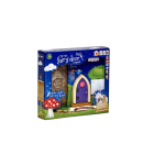 Irish Fairy Door - Purple Arched