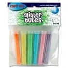 Crafty Bitz Pkt.6 Glitter Tubes - Neon