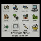 At Play Set of 12 Tiles