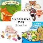 Gingerbread Man Story Set