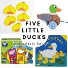 Five Little Ducks Story Set