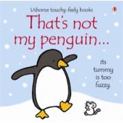 Thats not my penguin book - Interactive, sensory book