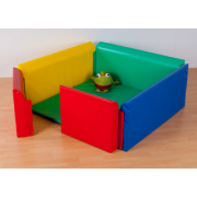 Square Soft Sided Den 1.2m*