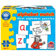 Alphabet Match - First Counting Puzzle