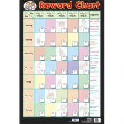 Reward Chart Poster - Educational Childrens Behaviour Chart