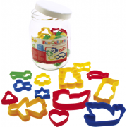 Fun Cutters - Jar of Pastry Cutters