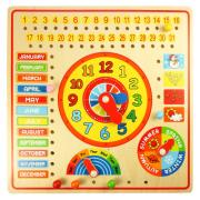 Calendar, Clock Days & Months