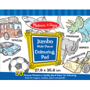 Jumbo Colouring Pad - Blue*