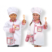 Chef Role Play Costume Set - Helps improve Imagination and Storytelling skills