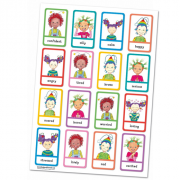 Feel Good Friends A1 Poster - Recognise and Identify feelings