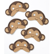 Five Little Monkeys Mask Set - Perfect for storytelling and roleplay