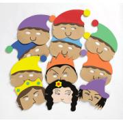 Snow White & the Seven Dwarfs Mask Set