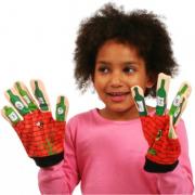 Ten Green Bottles Song Mitt Puppet Glove