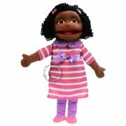 Medium Girl (Dark Skin Tone) Puppet*