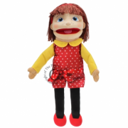 Medium Girl (Light Skin Tone) Puppet*
