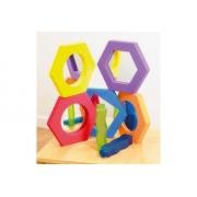 Softie Hexagonal Mirror Sm Pk5