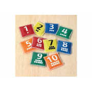 Number Bean Bags Pk10 - Help Children Recognise and Order Numbers