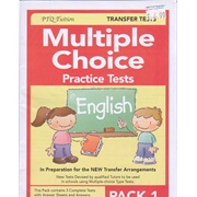 Multiple Choice Practice Tests in English Pack 1