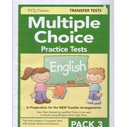 Multiple Choice Practice Tests in English Pack 3