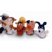 Old Macdonald Farm Animal Finger Puppets (Soft Toy)