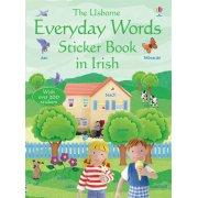 Everyday words in Irish Sticker Book