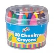 20 Chunky Crayons