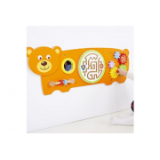 Bear Activity Wall Panel Toy*