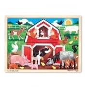 Barnyard Farm Jigsaw 24 pieces