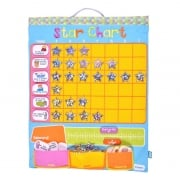 Star Chart - Multicoloured - Wall Hanging