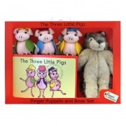The Three Little Pigs Puppets Box Set
